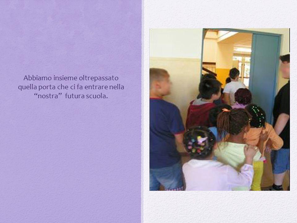 i bambini della scuola dellinfanzia sono andati nella classe prima e insieme hanno provato lunità: Prima si ascolta il nome del numero.