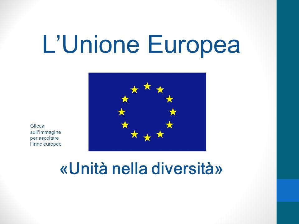 LUnione Europea cresce ancora: 2004 Lettonia Estonia Lituania Polonia Repubblica Ceca Slovacchia Ungheria Slovenia Cipro Malta