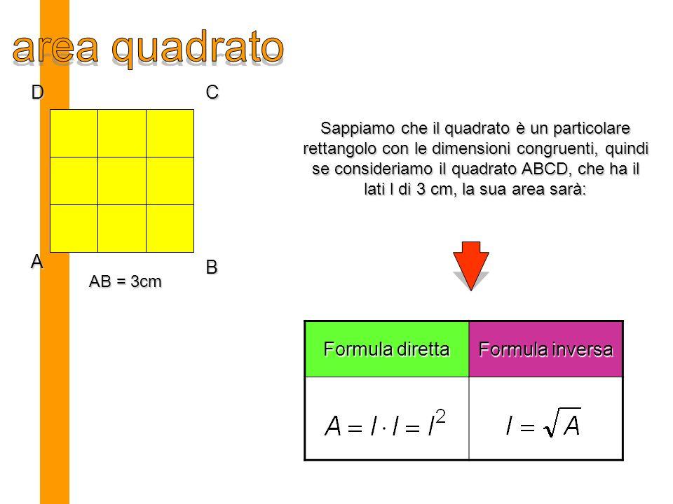 Con degli elastici colorati proviamo a formare dei rettangoli equivalenti di area 16 Usiamo come unità di misura un quadratino che ha come vertici 4 chiodi latiarea perimetr o funzion e 16x11634 Ramo di iperbole 8x21620 4x41616 2x81620 1x161634 Fra tutti i rettangoli il quadrato è quello che ha perimetro minore