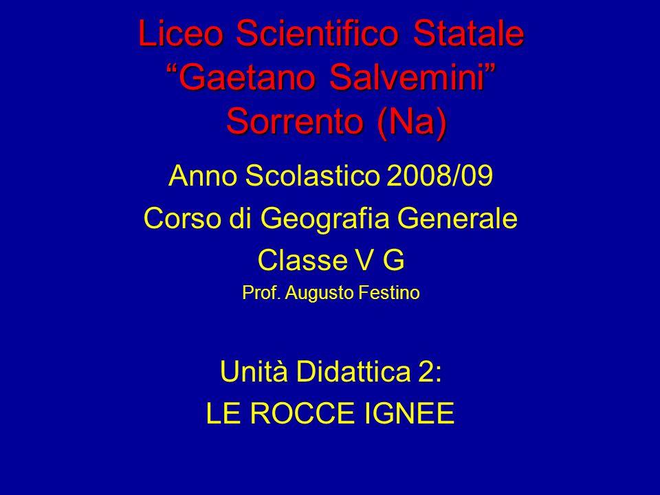Struttura Porfirica con fenocristalli Fig. 4.4