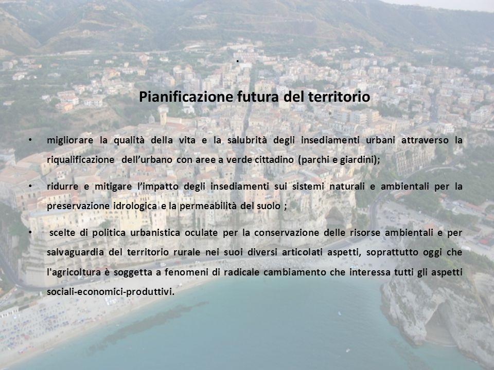 Pianificazione futura del territorio migliorare la qualità della vita e la salubrità degli insediamenti urbani attraverso la riqualificazione dellurba