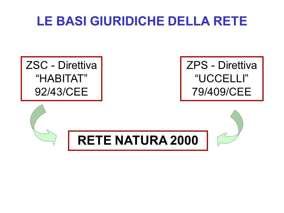 D.P.R.8 settembre 1997, n. 357 Il recepimento della direttiva è avvenuto in Italia con il D.P.R.