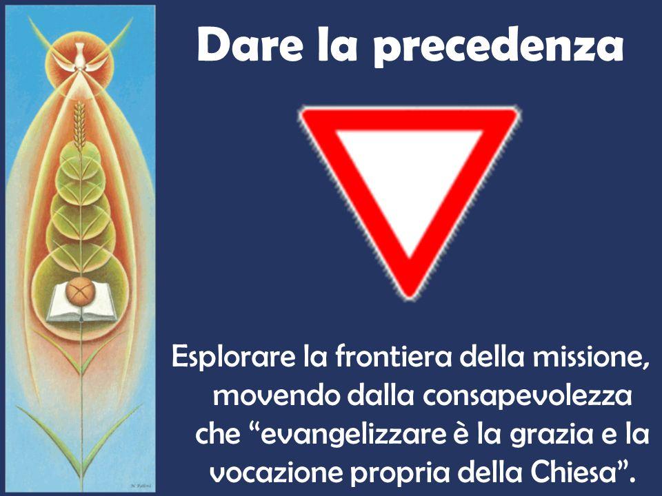 Direzione obbligatoria Discernere i segni dei tempi alla luce del Vangelo, portando il contributo dellesperienza e della speranza.