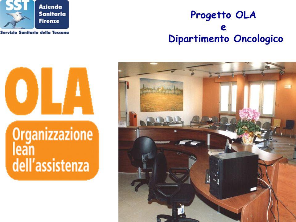 Progetto OLA e Dipartimento Oncologico
