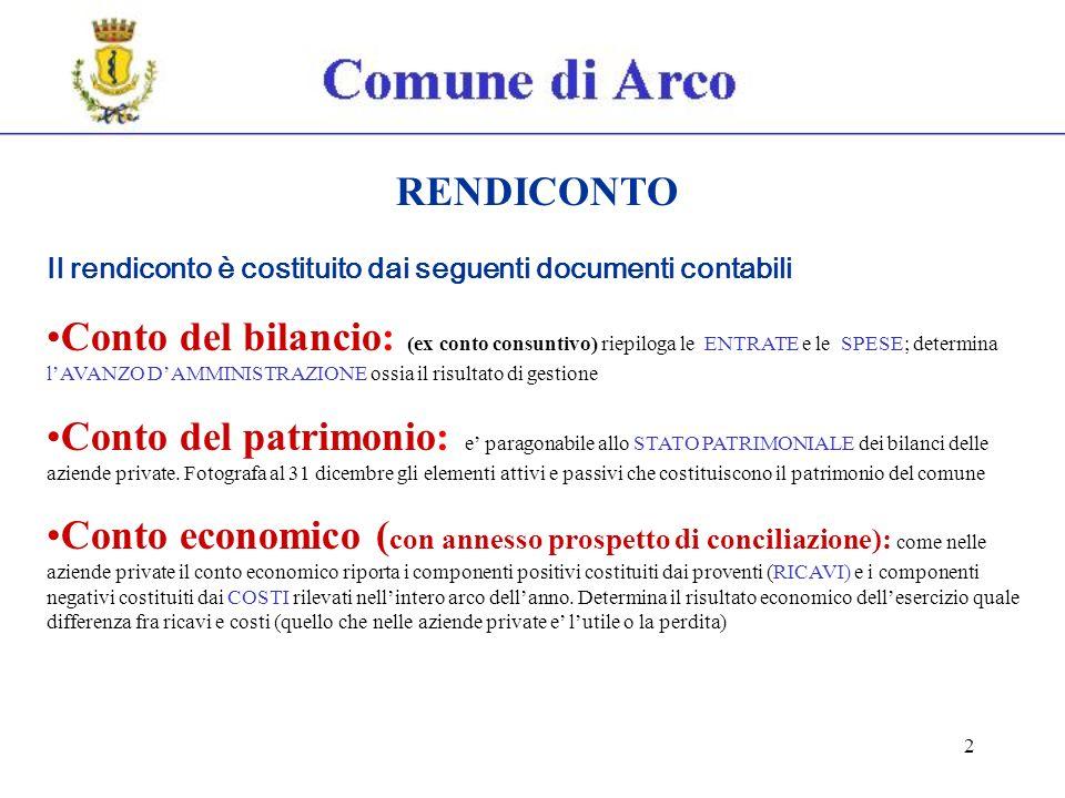 63 Prospetto di conciliazione IL PROSPETTO DI CONCILIAZIONE HA LO SCOPO DI RACCORDARE, MEDIANTE RETTIFICHE E INTEGRAZIONE DI TALUNI DATI TIPICAMENTE ECONOMICI, LE RISULTANZE FINANZIARIE DEL CONTO DEL BILANCIO CON IL CONTO ECONOMICO E IL CONTO DEL PATRIMONIO IN ASSENZA DI UNA VERA E PROPRIA CONTABILITA GENERALE, E UNO STRUMENTO CHE, PARTENDO DAI DATI FINANZIARI DEL CONTO DEL BILANCIO, APPLICANDO I PRINCIPI DELLA CONTABILITA ECONOMICO-PATRIMONIALE E UTILIZZANDO TALUNE SCRITTURE EXTRACONTABILI, PERMETTE DI REDIGERE IL CONTOE CONOMICO E IL CONTO DEL PATRIMONIO.