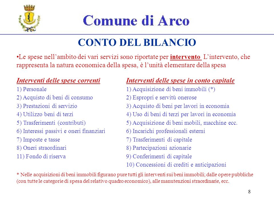 59 CONTO DEL PATRIMONIO Esercizio 2009