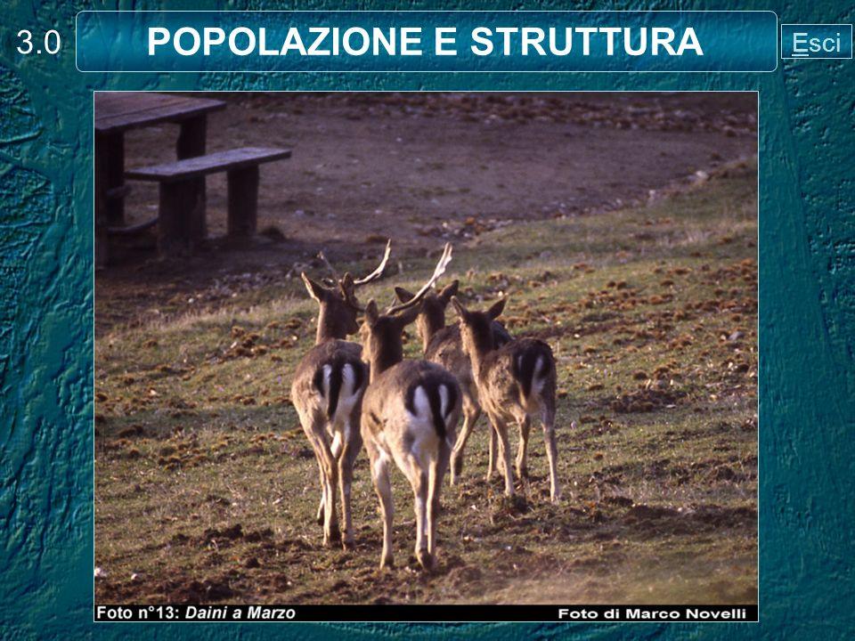 Prevede la conoscenza del numero di animali presenti nella popolazione. 3.11 CONSISTENZA