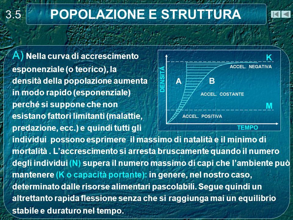 STRUTTURA 3.26 La PC Proporzione Classi di Età è il rapporto percentuale tra le varie classi di età presenti nella popolazione.