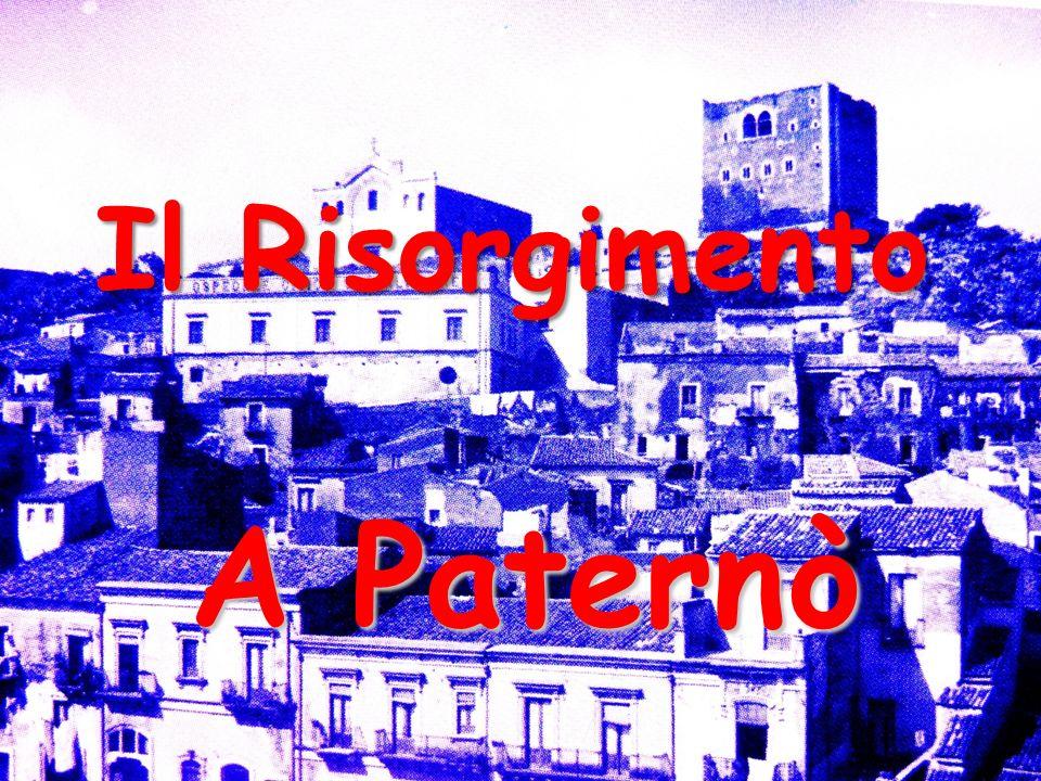 Il Risorgimento A Paternò