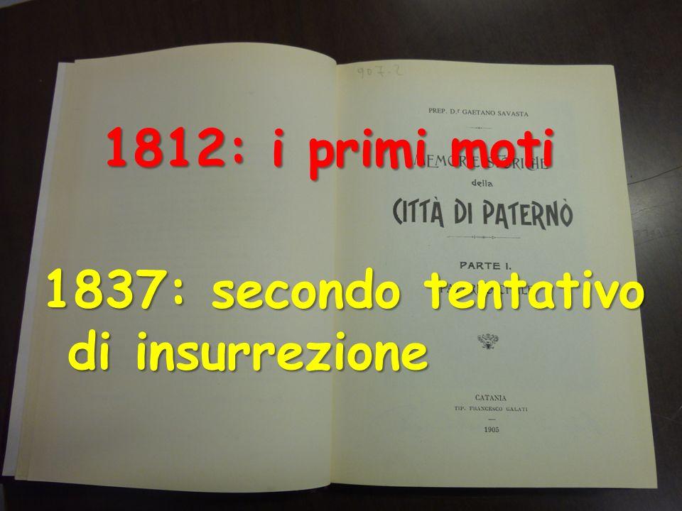 1848 Il movente vero?