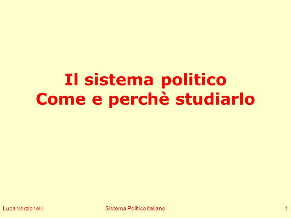 Vecchi e recenti titoli sul Sis_Pol_Ita A republic without government (Allum, 1973) Surviving without governng (Di Palma 1978) Esiste un governo in Italia (Cassese 1980) A difficult democracy (Spotts & Wieser 1986) Adjustment under duress (Bull & Newell 2007) The sick man of Europe….