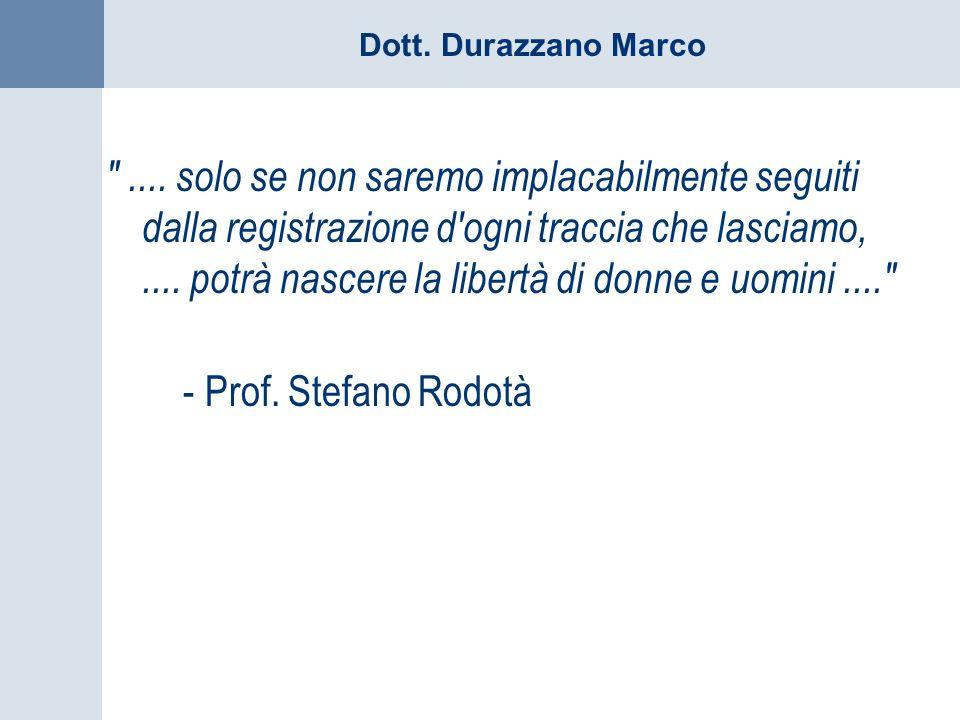 Dott. Durazzano Marco