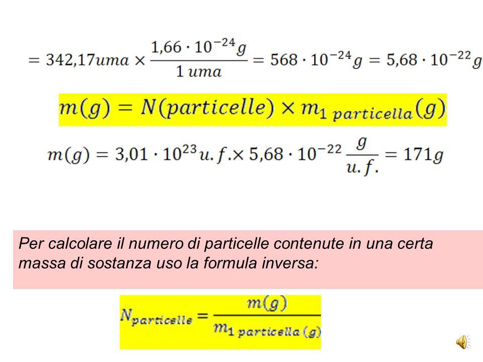 A) calcola la massa in grammi di 3·10 23 unità formula di solfato di alluminio