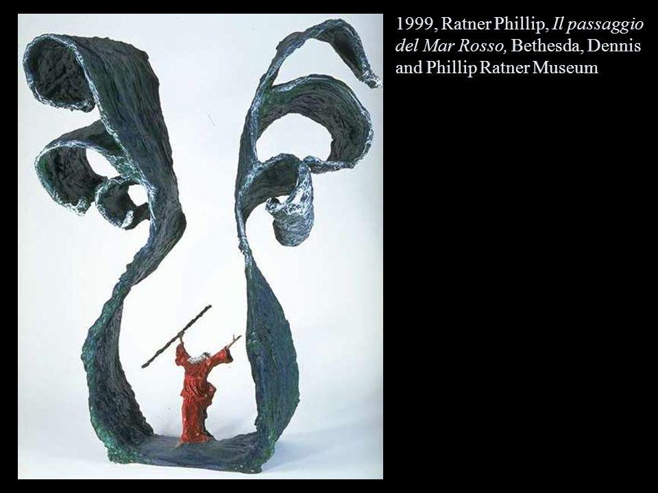 1999, Ratner Phillip, Il passaggio del Mar Rosso, Bethesda, Dennis and Phillip Ratner Museum