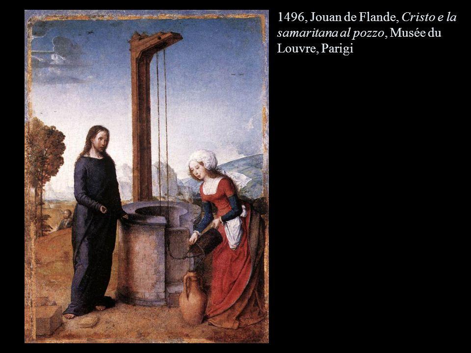 1496, Jouan de Flande, Cristo e la samaritana al pozzo, Musée du Louvre, Parigi