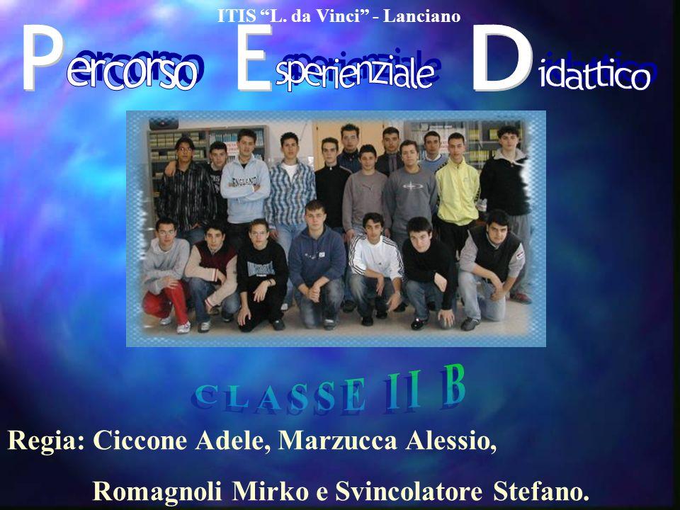 ITIS L. da Vinci - Lanciano Regia: Ciccone Adele, Marzucca Alessio, Romagnoli Mirko e Svincolatore Stefano.