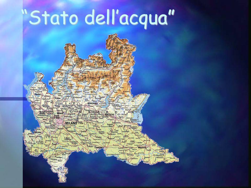 Lombardia in nomi e cifre Superficie regionale: 24.000km 2 42% montagna e 13% collina Piovosità media: 1000 mm/anno Afflusso medio di 27 mld di m 3 di acqua allanno Volumi di riserve non rinnovabili pari a 120 mld nei laghi, 500 mld nelle falde e 4 mld nei ghiacciai alpini.