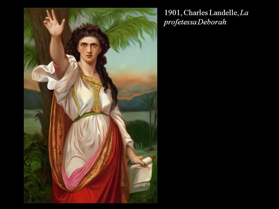 1901, Charles Landelle, La profetessa Deborah