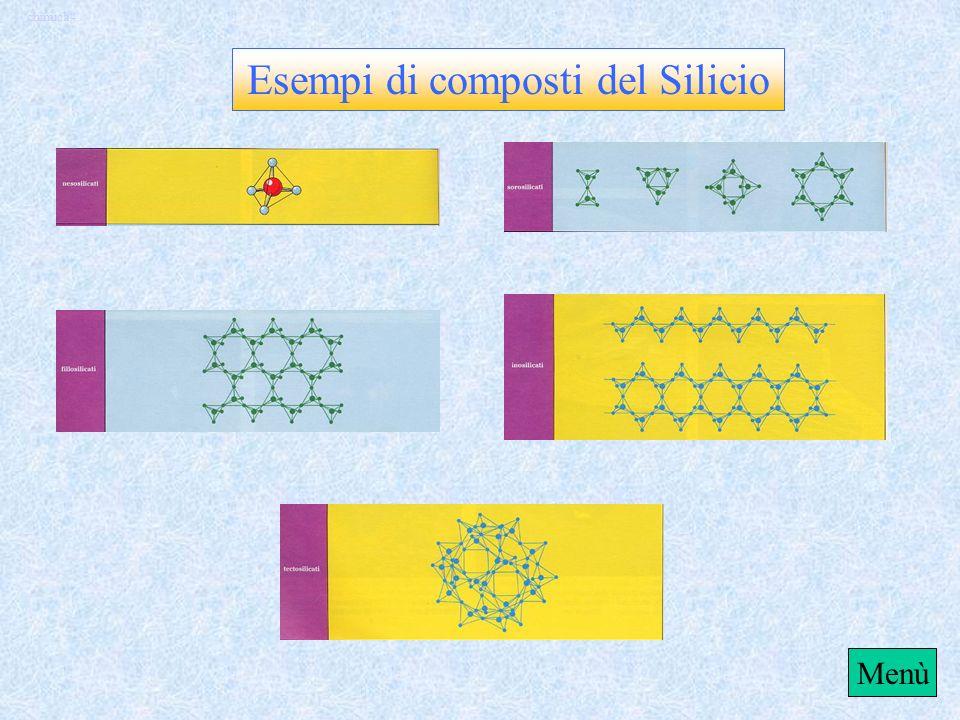 chimica4 Esempi di composti del Carbonio Menù