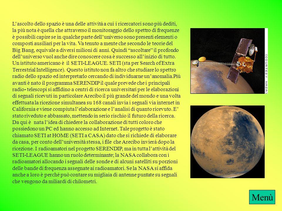 Probabilità1_2 Il dibattito teorico sulla possibile esistenza di forme di vita extraterrestre è tuttora molto vivace. Una definizione soddisfacente de