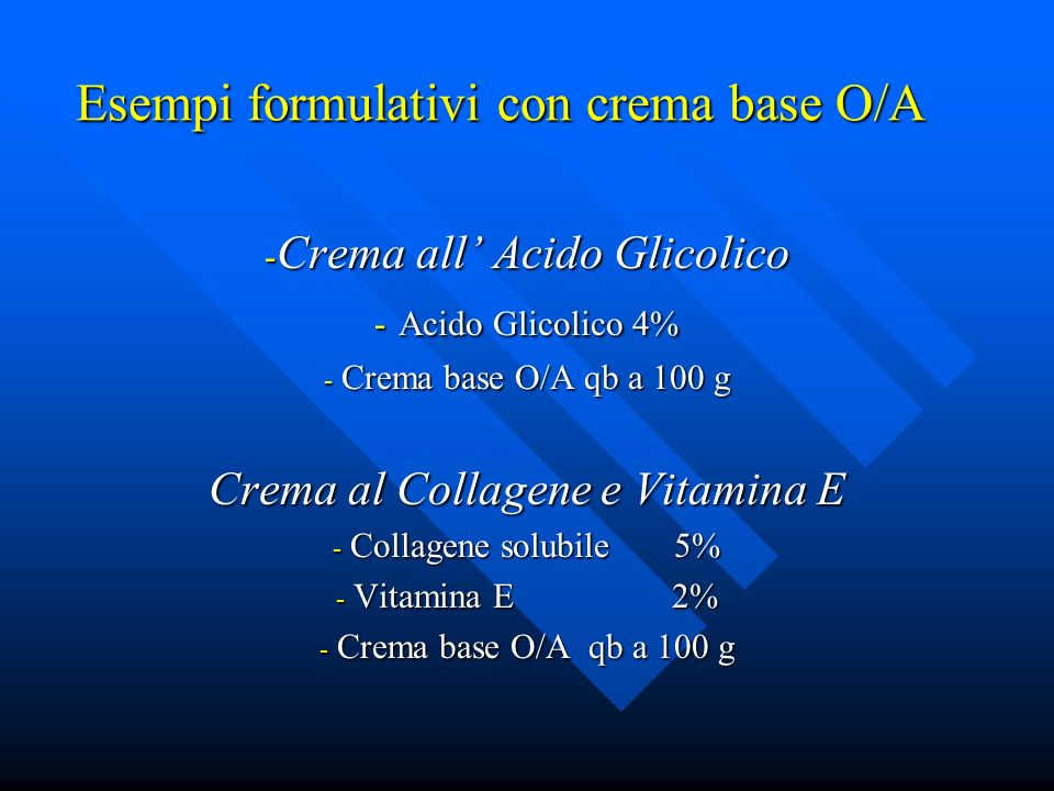 Crema da Giorno al Collagene - Collagene nativo solubile 5% - Proteine del grano 5% - Sericina 0,5% - Acido Jaluronico 0,2% - Crema base O/A qb a 100%