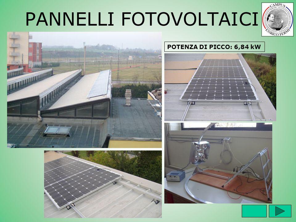 PANNELLI FOTOVOLTAICI POTENZA DI PICCO: 6,84 kW