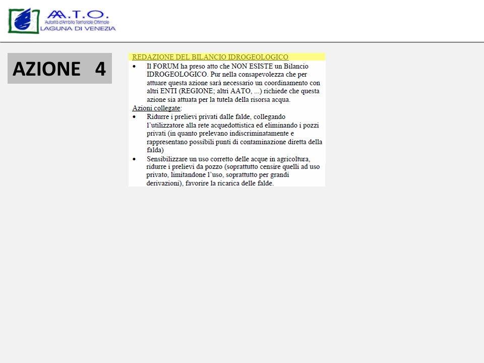 CERTIFICAZIONE AMBIENTALE 7 inoltre lAATO LAGUNA DI VENEZIA è certificata ISO 14001:2004