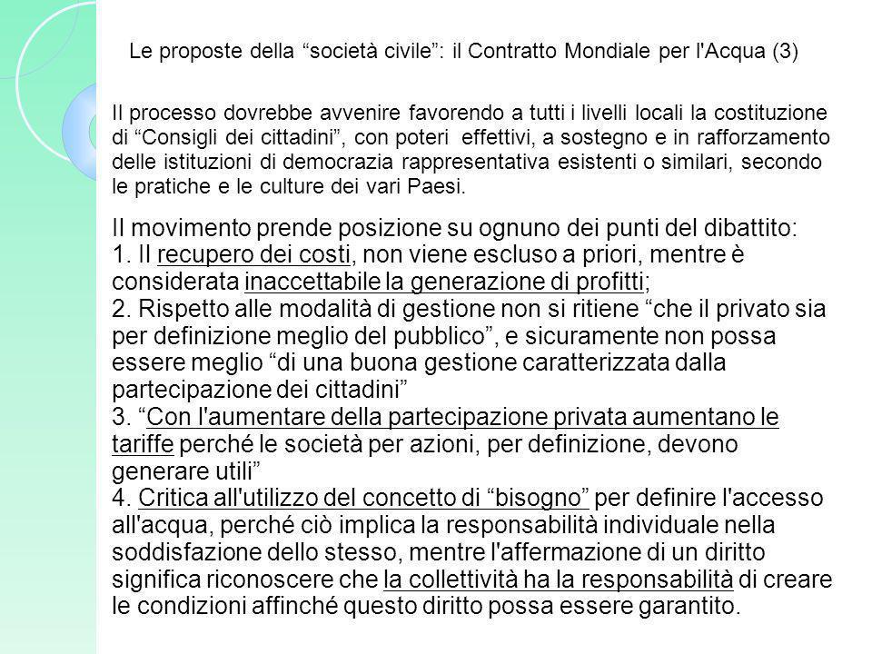 Il processo dovrebbe avvenire favorendo a tutti i livelli locali la costituzione di Consigli dei cittadini, con poteri effettivi, a sostegno e in raff