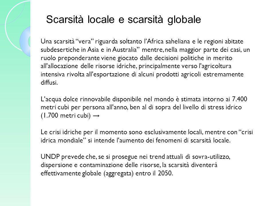 Le proposte della società civile: il Contratto Mondiale per l Acqua 1989 – prima stesura e approvazione a Lisbona del Manifesto per un Contratto Mondiale dell Acqua, da parte di un gruppo di studiosi di varie discipline e di attivisti.