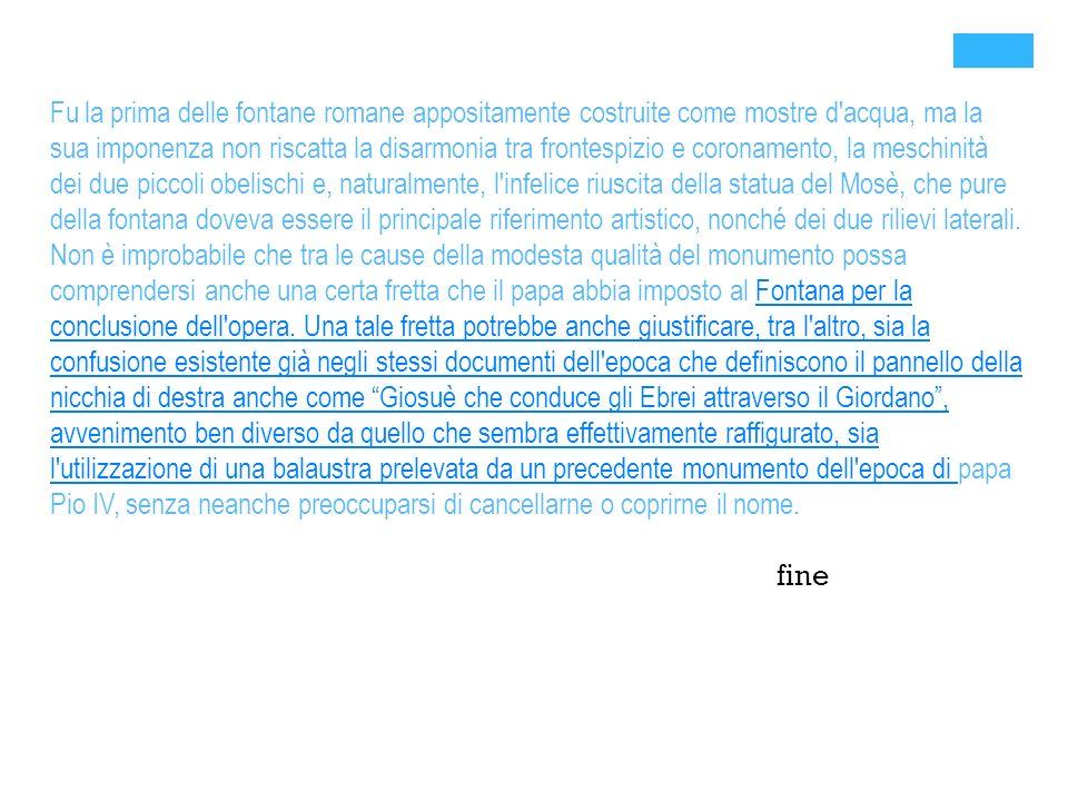 + Bibliografia WIKIPEDIA the free encyclopedia ARTE.IT SITO ROMA CAPITALE