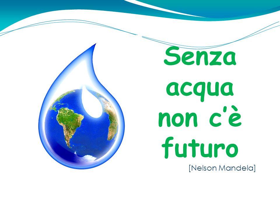 Senza acqua non cè futuro [Nelson Mandela]