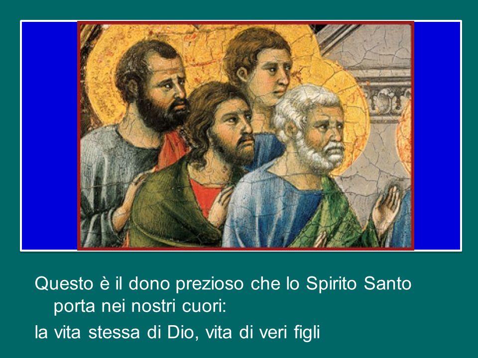 Lo Spirito stesso, insieme al nostro spirito, attesta che siamo figli di Dio. E se siamo figli, siamo anche eredi: eredi di Dio, coeredi di Cristo, se