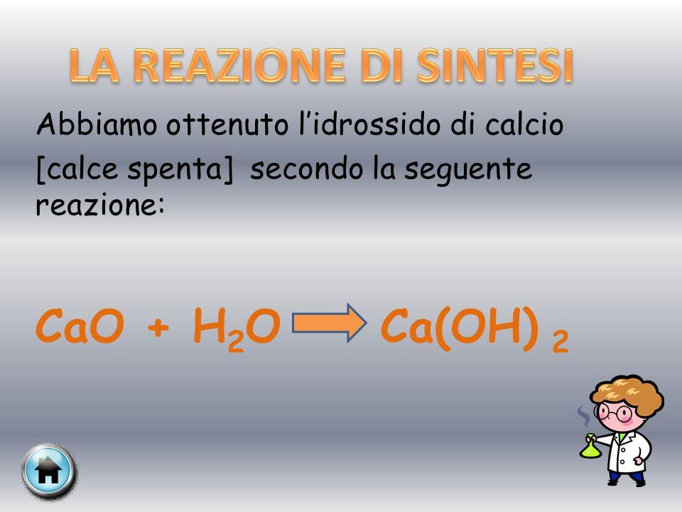 Verifichiamo che il composto ottenuto sia basico ponendone qualche goccia in un vetro d orologio insieme a poche gocce di fenolftaleina.