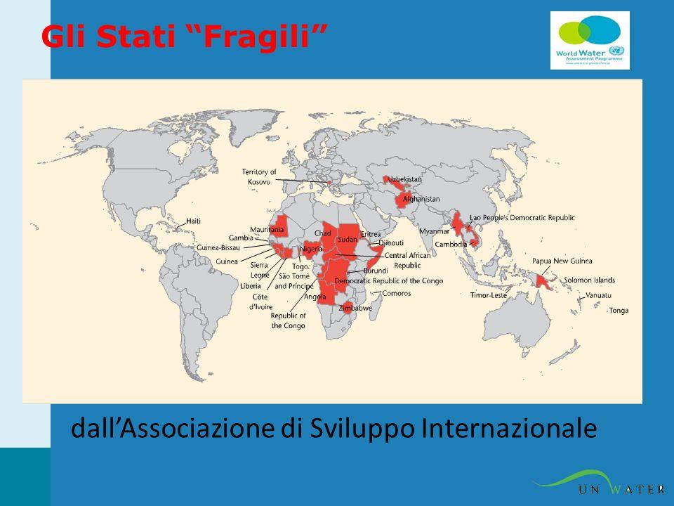 Gli Stati Fragili dallAssociazione di Sviluppo Internazionale