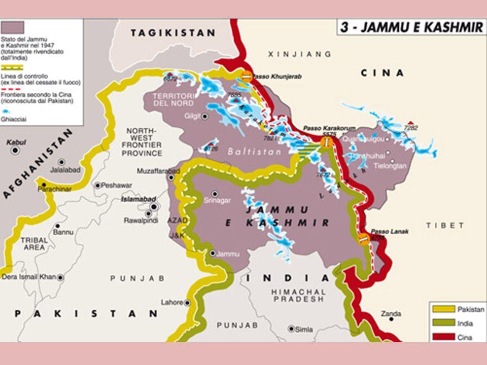 Dopo il 1947 in India esplosero dei conflitti tra Musulmani e Induisti. Si creò così la lega musulmana che portò alla divisione del territorio in due