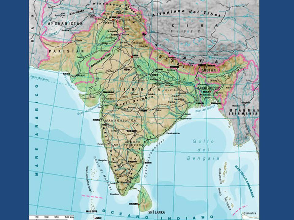 La zona settentrionale comprende il sistema montuoso dellHimalaya e del Karakoram.