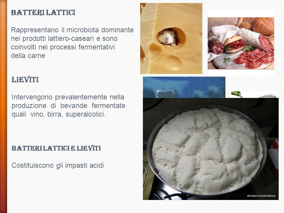PRODOTTI LATTIERO CASERARI YOGURT Principale latte fermentato acido prodotto con batteri lattici termofili.
