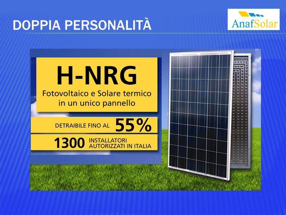 H-NRG Notevole aumento della resa elettrica istantanea.