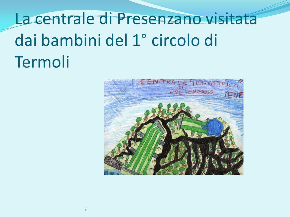 La centrale di Presenzano visitata dai bambini del 1° circolo di Termoli 2