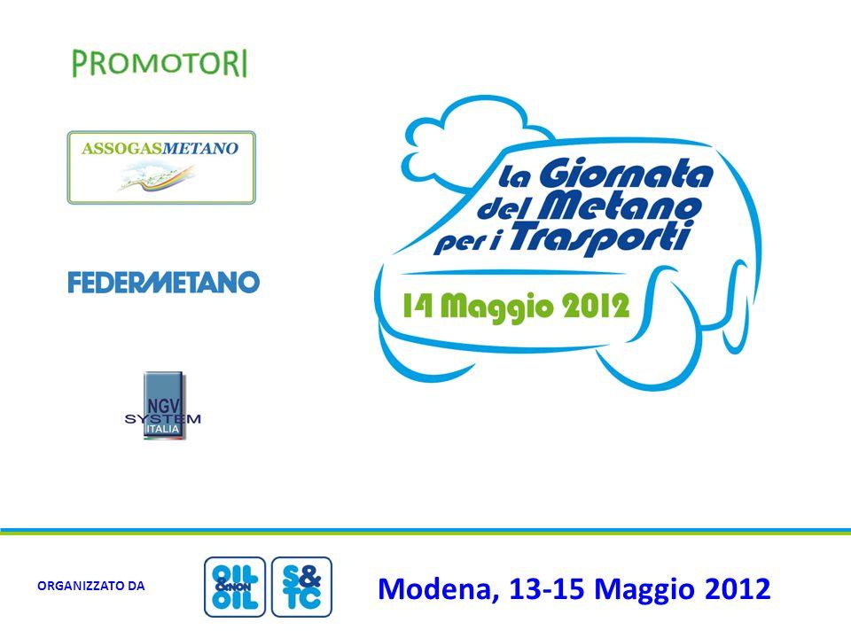 Modena, 13-15 Maggio 2012 ORGANIZZATO DA