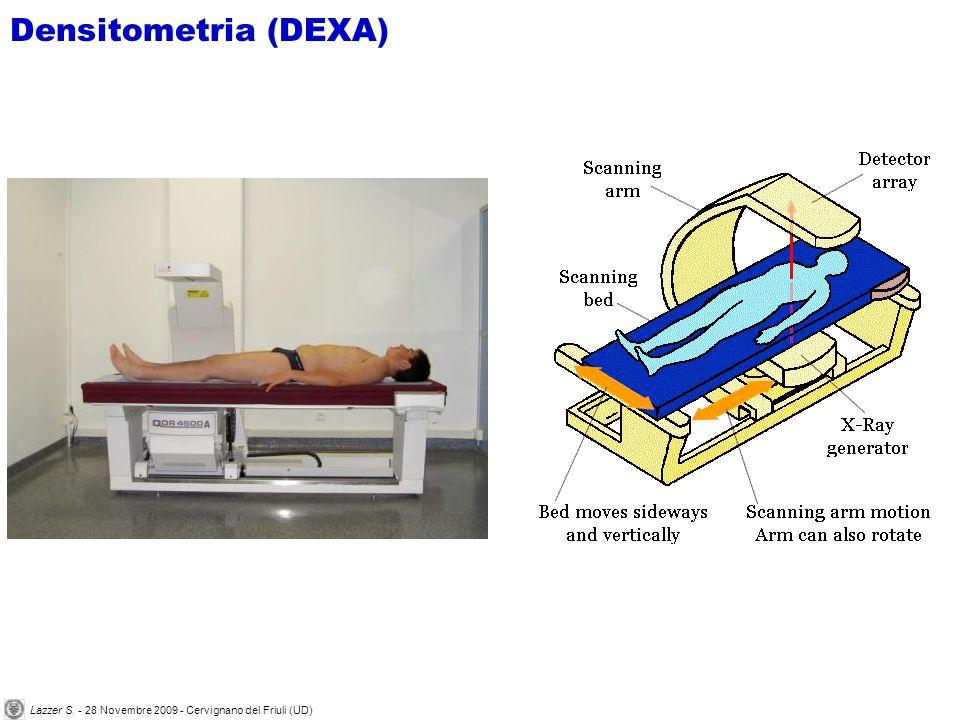 Densitometria (DEXA) Lazzer S. - 28 Novembre 2009 - Cervignano del Friuli (UD)