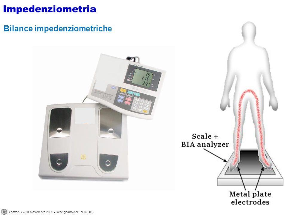 Bilance impedenziometriche Impedenziometria Lazzer S.