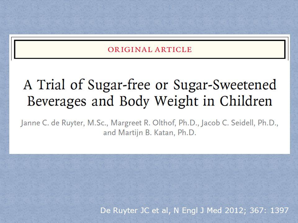 De Ruyter JC et al, N Engl J Med 2012; 367: 1397