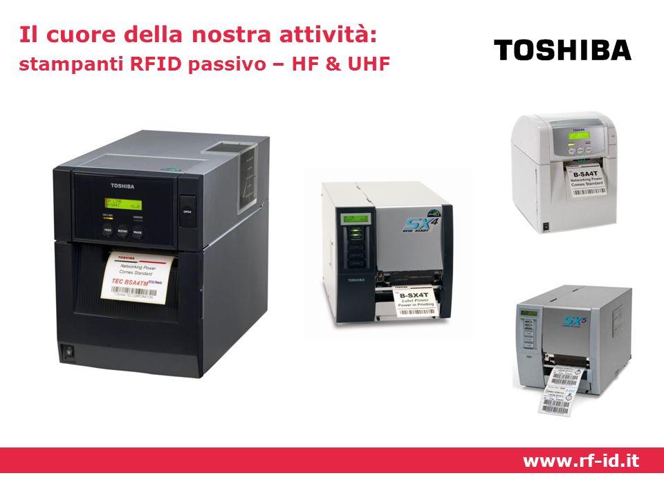 Il cuore della nostra attività: stampanti RFID passivo – HF & UHF www.rf-id.it