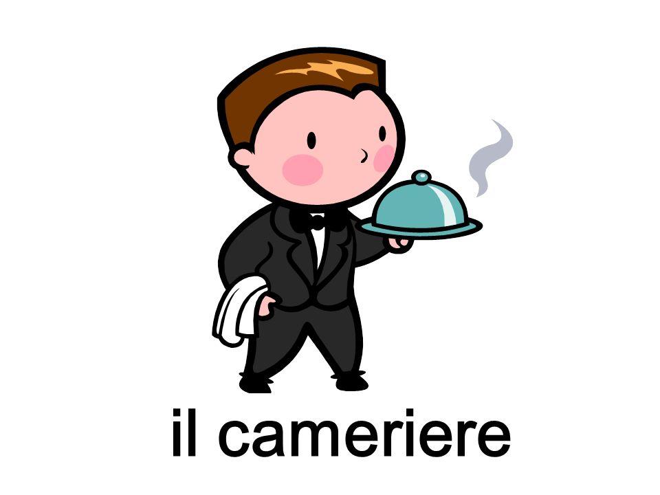 il cameriere