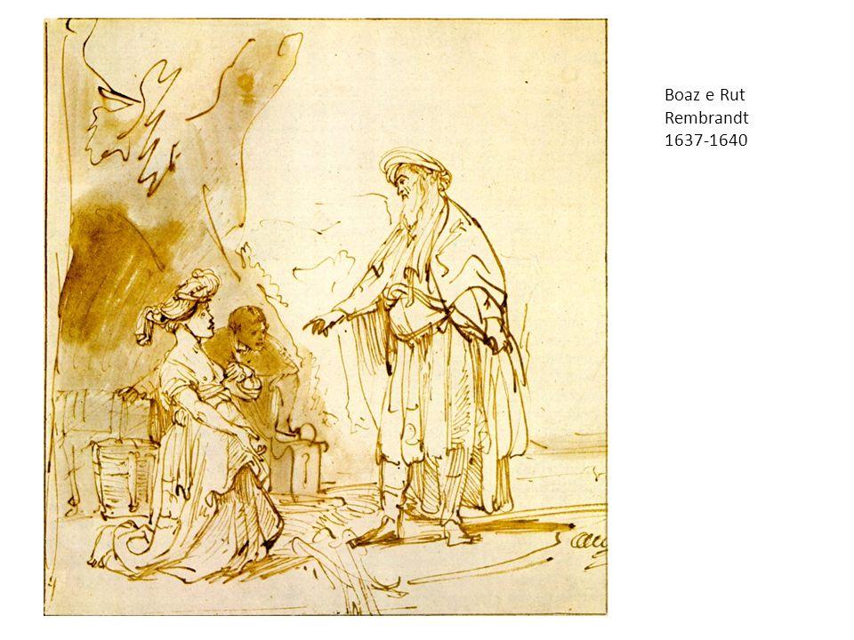 Boaz e Rut Rembrandt 1637-1640