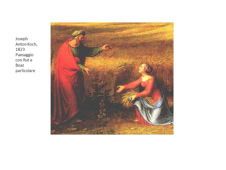 Joseph Anton Koch, 1823 Paesaggio con Rut e Boaz particolare