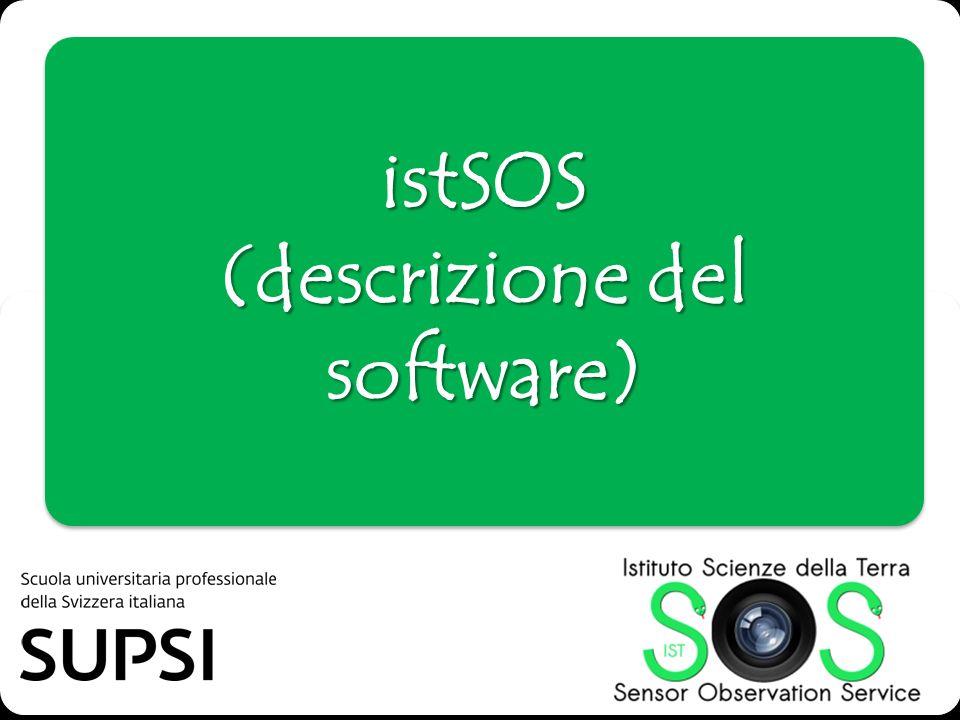 istSOS (descrizione del software)