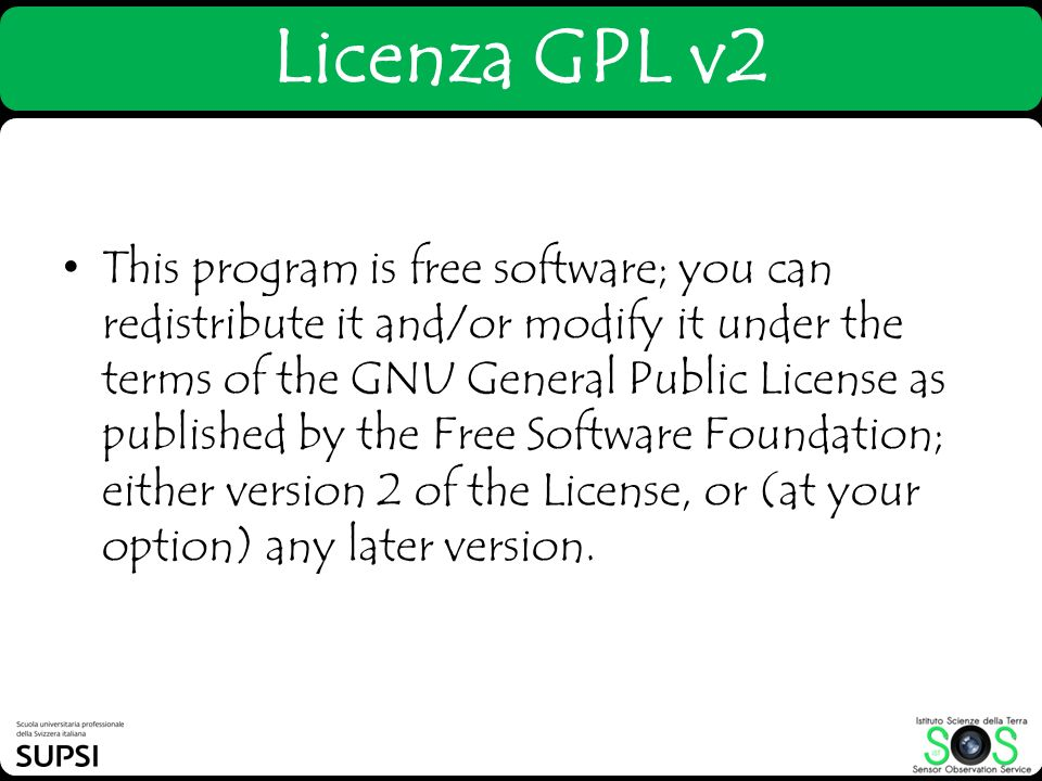 This program is free software; you can redistribute it and/or modify it under the terms of the GNU General Public License as published by the Free Software Foundation; either version 2 of the License, or (at your option) any later version.