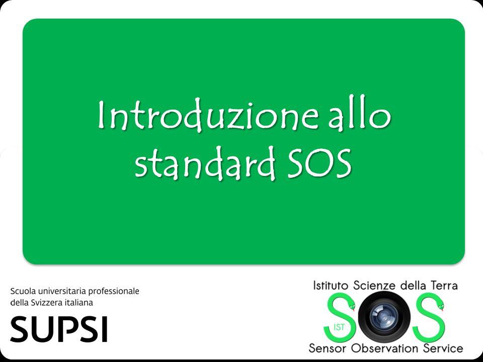Introduzione allo standard SOS